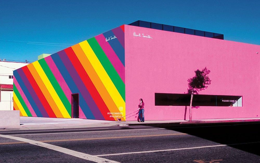 Paul Smith, Melrose Avenue, LA
