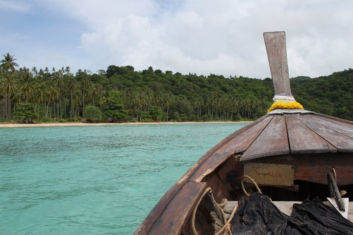 Loh Moo Dee island seen from our long tail boat