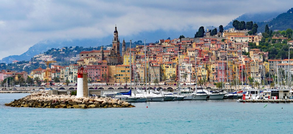 Menton, Monaco's colourful neighbour
