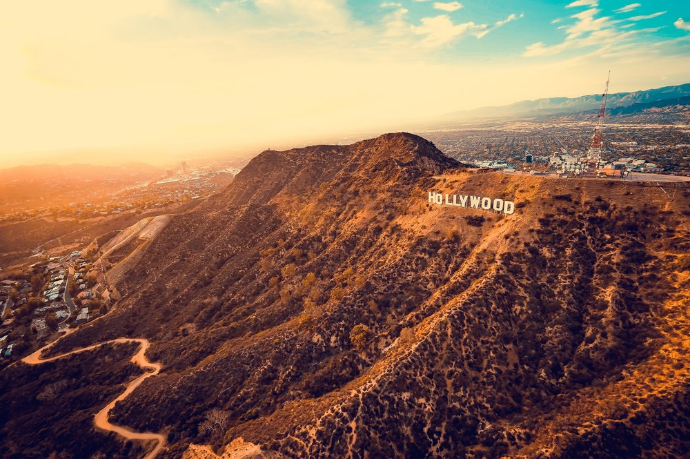 Expansive views of Hollywood