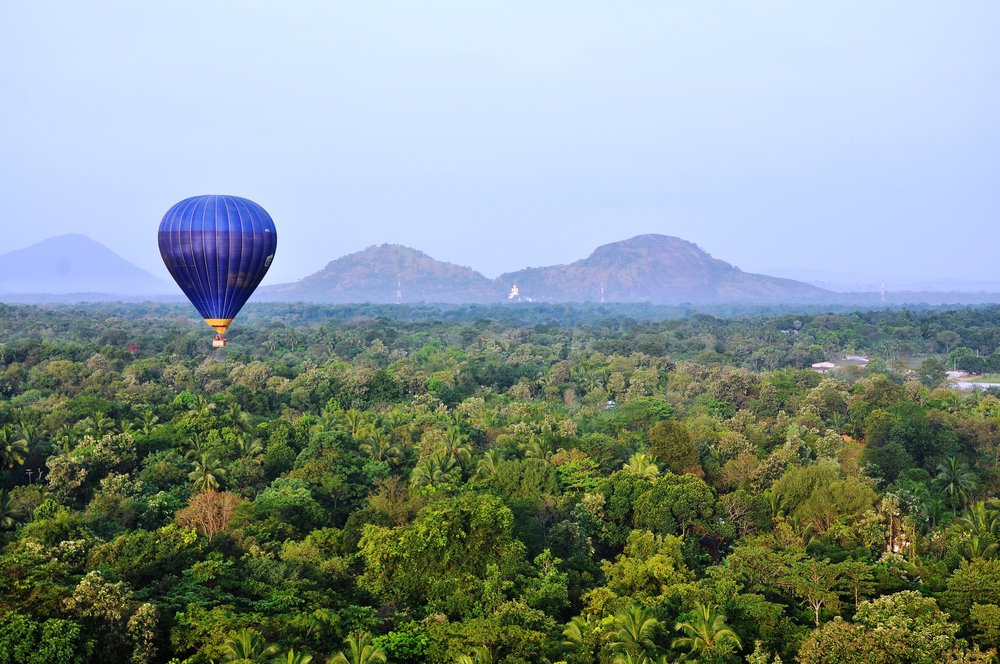 A Sunrise Ballooning hot air ballon tour