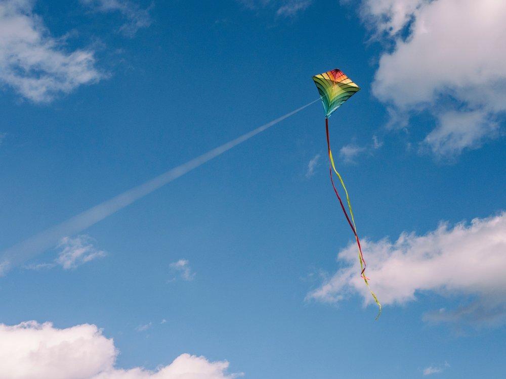 Kite flying in Sri Lanka
