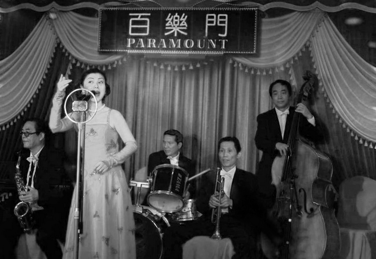 Singers at The Paramount, during the nightclubs' heyday