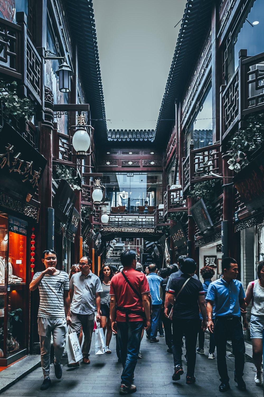 Exploring Shanghai by foot
