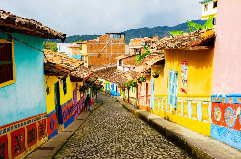 Guatape, Colombia - most colourful cities in the world