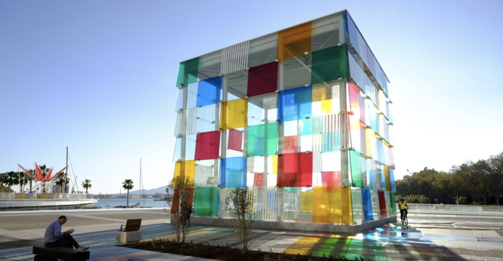 Pompidou Centre, Malaga. Photo Credit: @centrepompidoumalaga