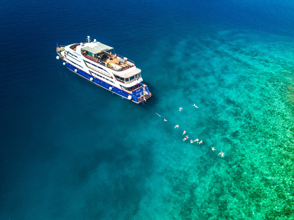 One of Peregrine Adventure's shall ship fleet. Image credit - Peregrine Adventures