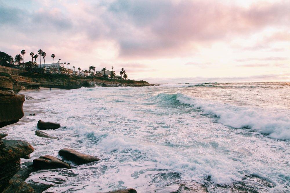 San Diego's coastline. Photo Credit: Monty Lov