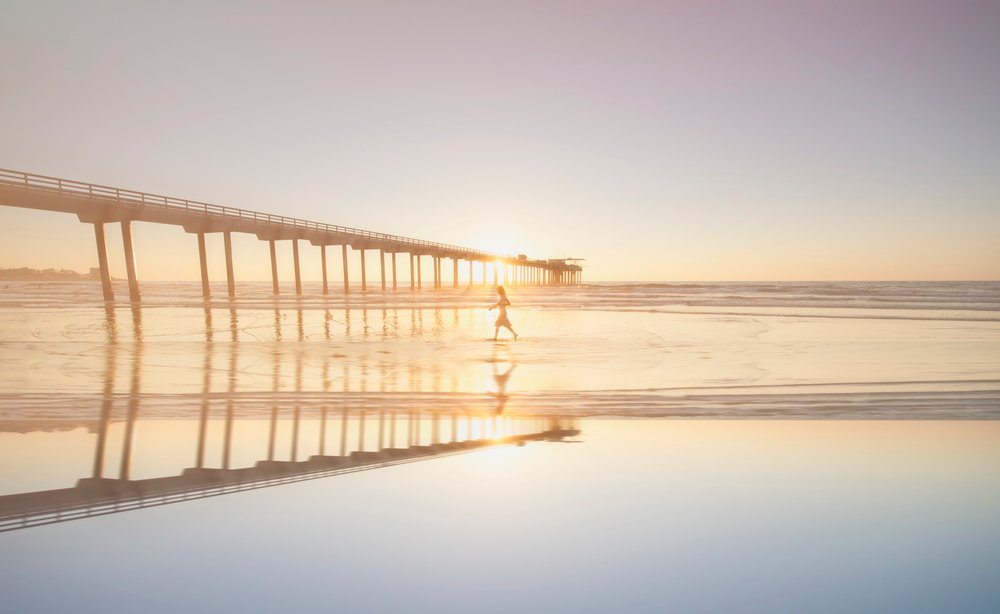 Ocean Beach pier, San Diego. Photo Credit: Frank McKenna