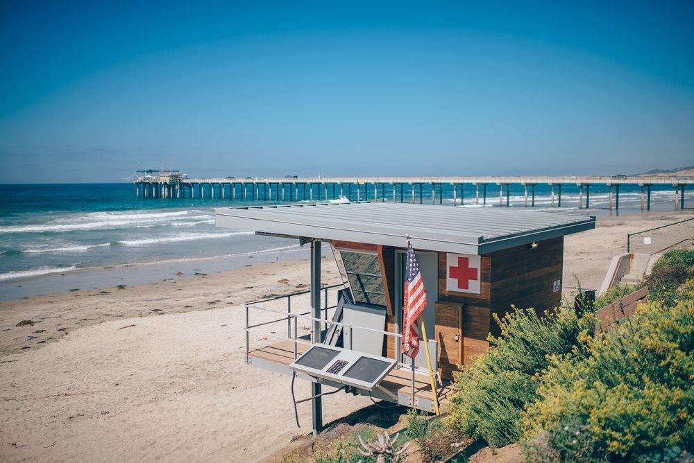 Ocean Beach lifeguard hut, San Diego. Photo Credit: Ian Schneider