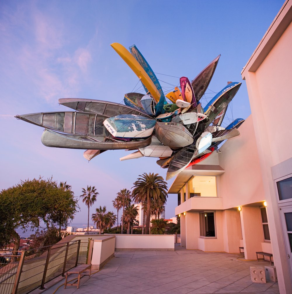 La Jolla Museum of Contemporary Art Installation. Photo Credit: Pablo Mason, Visit San Diego