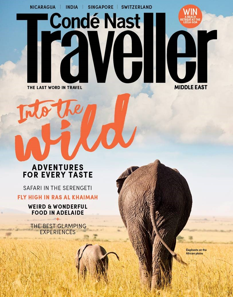 Condé Nast Traveller - Contemporary Class Co-Founders & Editors, Katie & Bethany Silcox, feature in the 'Word of Mouth' section of Condé Nast Traveller Middle East's August 2018 edition.