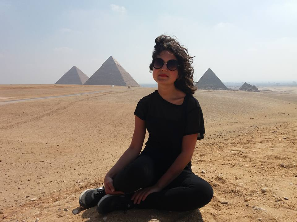 Lily Sommer in Egypt