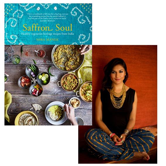 Mira Manek Saffron Soul cookbook