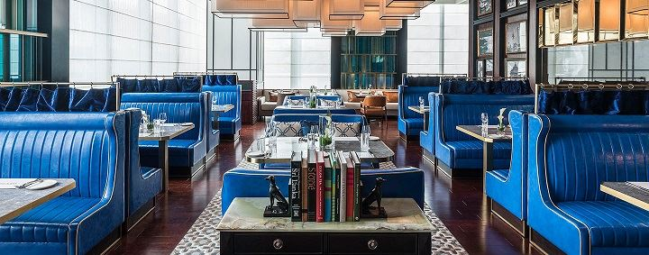 Interiors at Capital Bar & Grill, Colombo. Image credit: Shangri-La Hotels