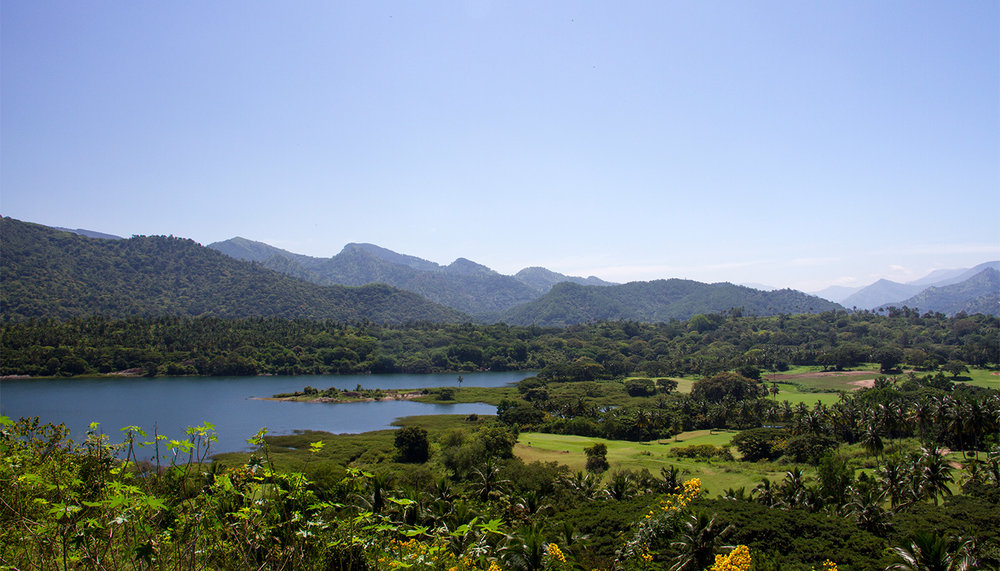 Tranquil views in the Sri Lankan hills