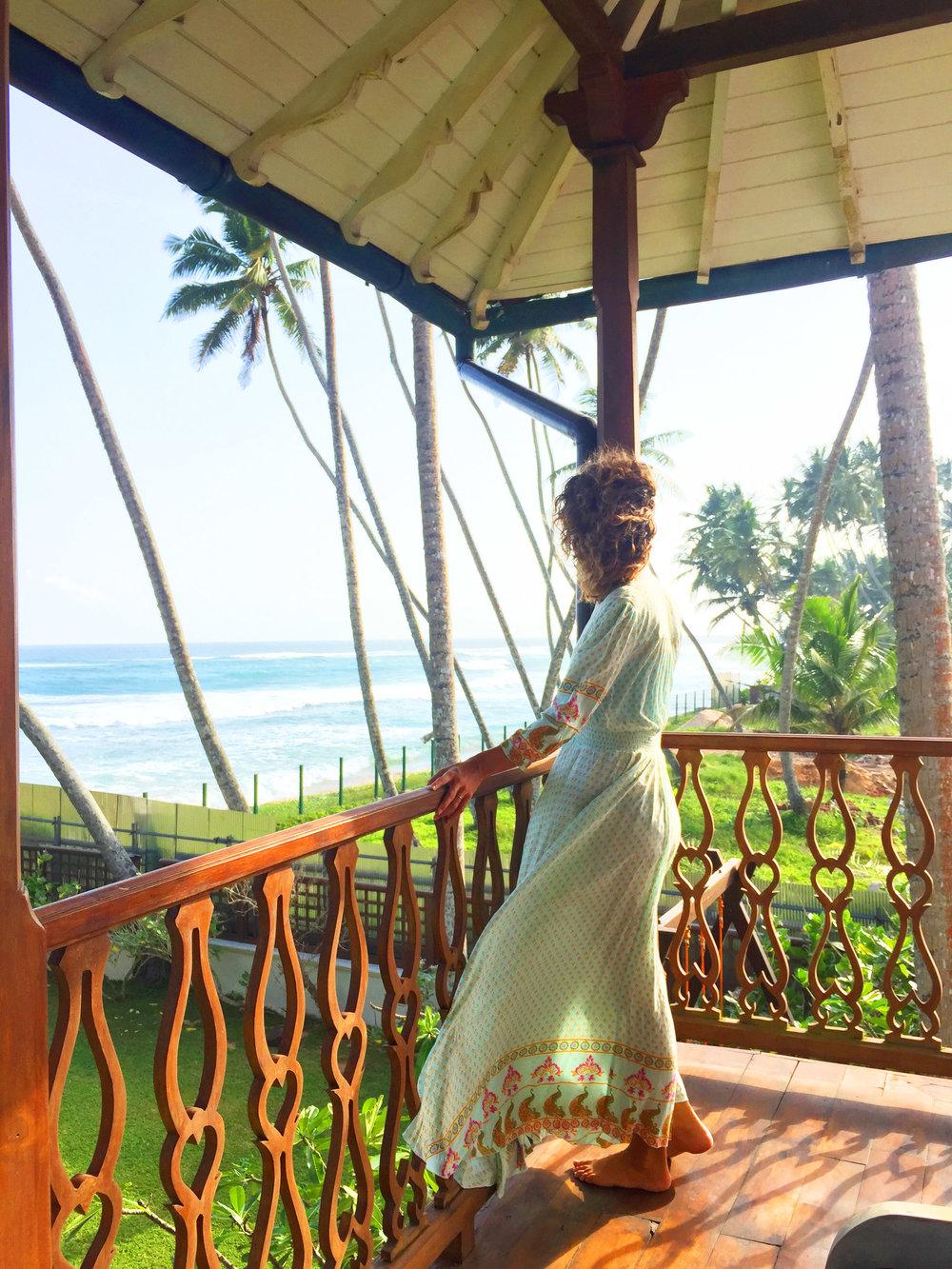 Hannah Balfour in Sri Lanka