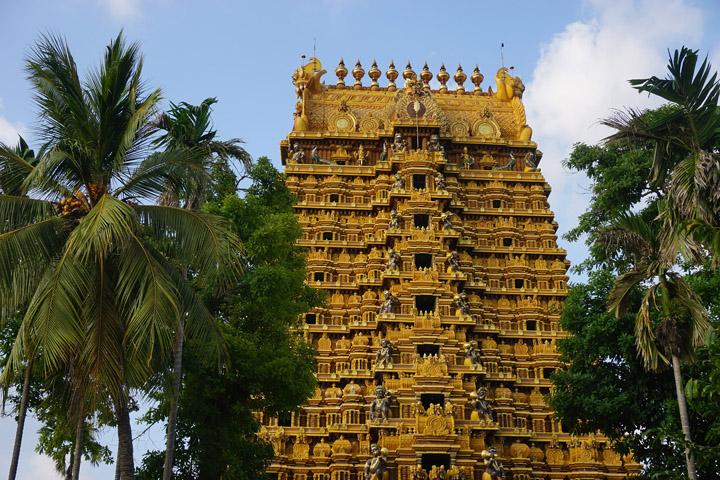 A temple in Jaffna, Sri Lanka