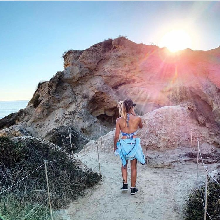 - Laura Johnson, San Diego local - Hike Torrey Pines or do a workout in the park - either Kate Sessions Park, or Waterfront Park at the Embarcadero.