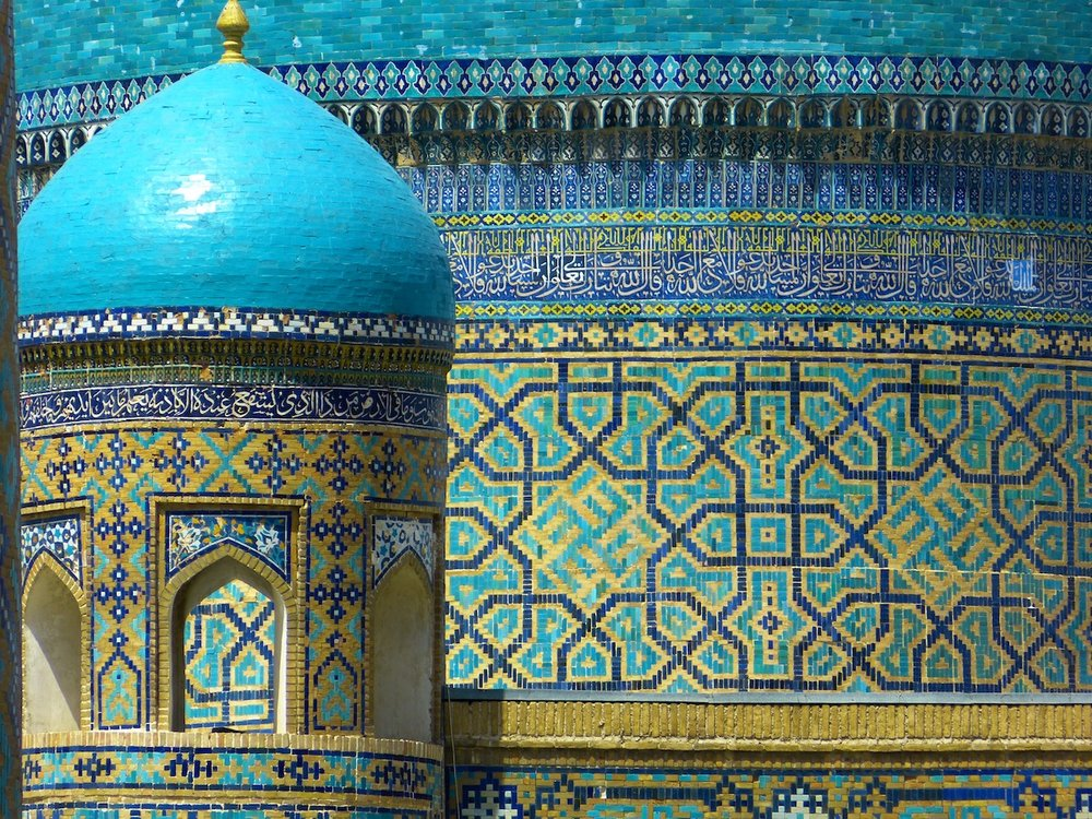 Bibi Xanom Mosque, Samarkand, Uzbekistan