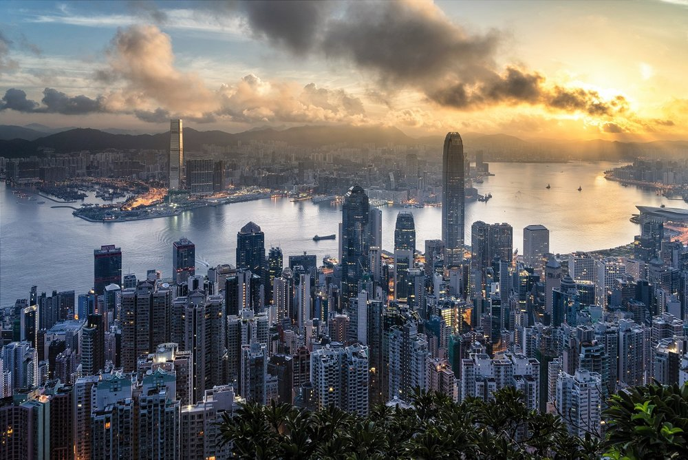 View from Victoria Peak, Hong Kong. Image credit: Ryan Mcmanimie