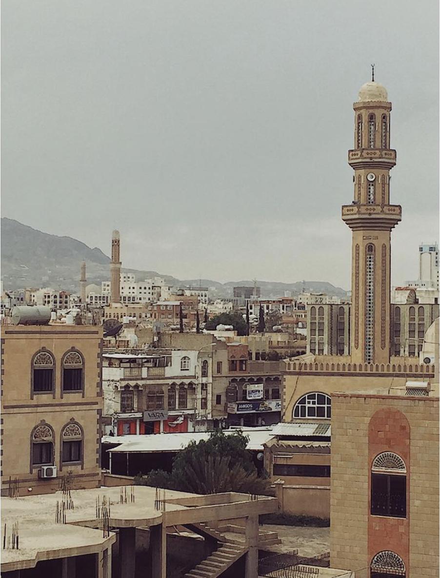 Yemen's capital city, Sana'a. Photo Credit:  @ibiibrahim