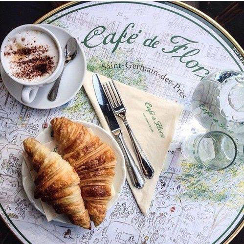 Café de Flora in Paris was once frequented by Ernest Hemingway. Photo Credit: Liviana Tate