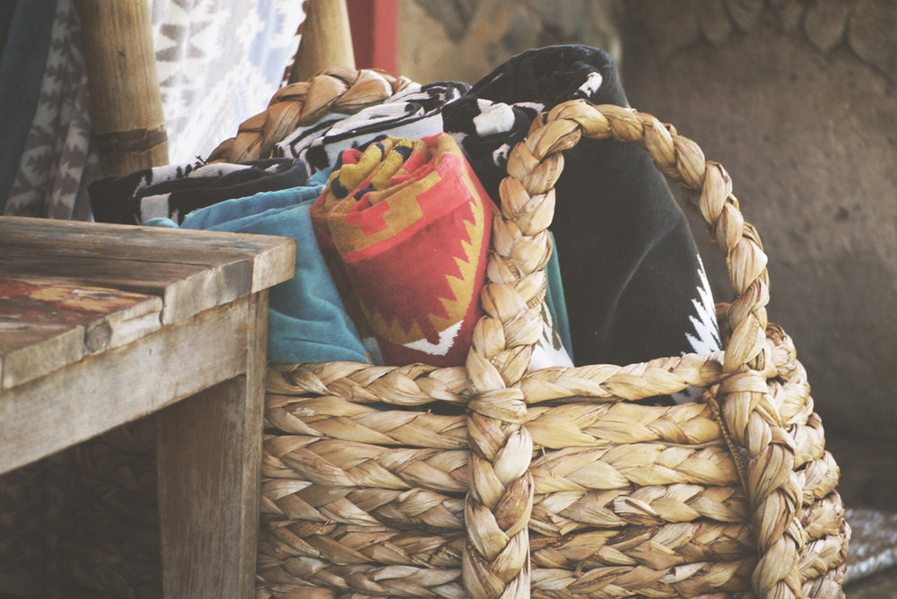 Straw basket weaving has long been a traditional craft in Nabeul, Tunisia.