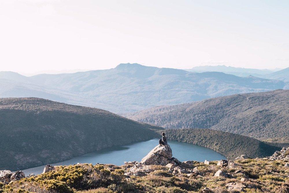 Picturesque landscape of Tasmania