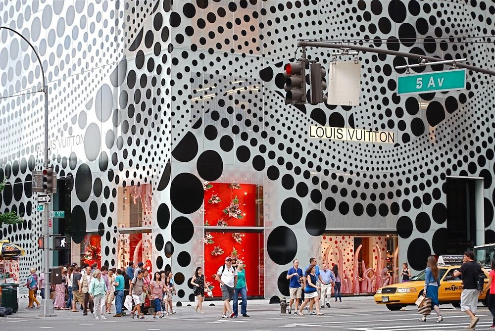 Louis Vuitton, New York