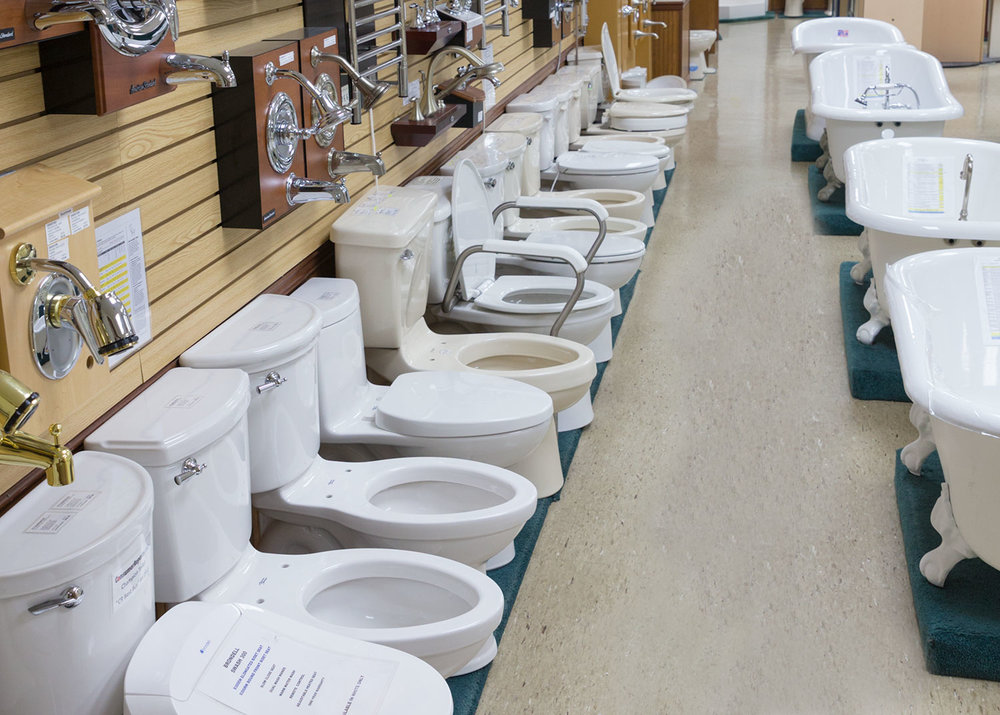 Toilets — Luter\'s Supply
