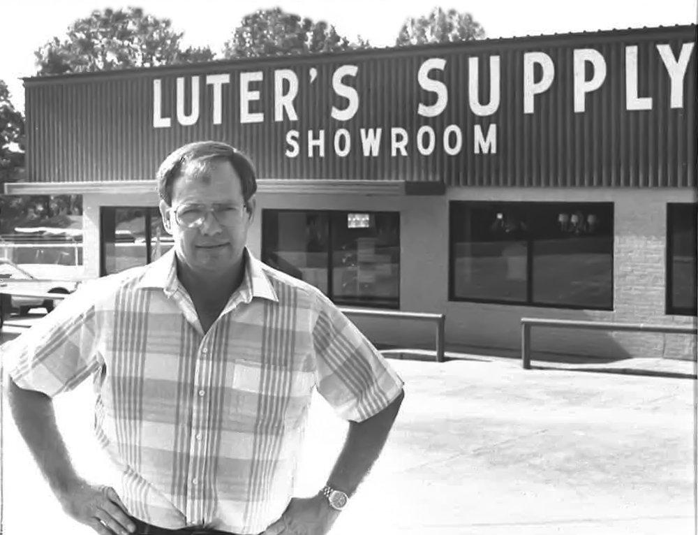 Former CEO Emmette Luter in 1986