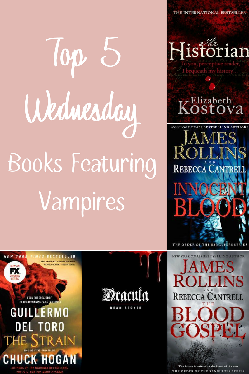 top 5 wednesday vampires