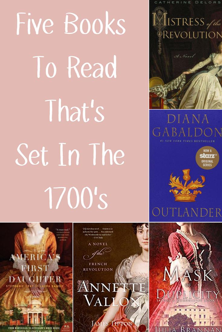 Books Set in 1700s