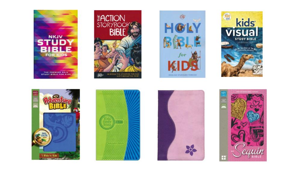 kids bibles christmas holiday gift