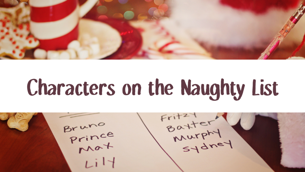 Characters on the Naughty List top 5 wednesday