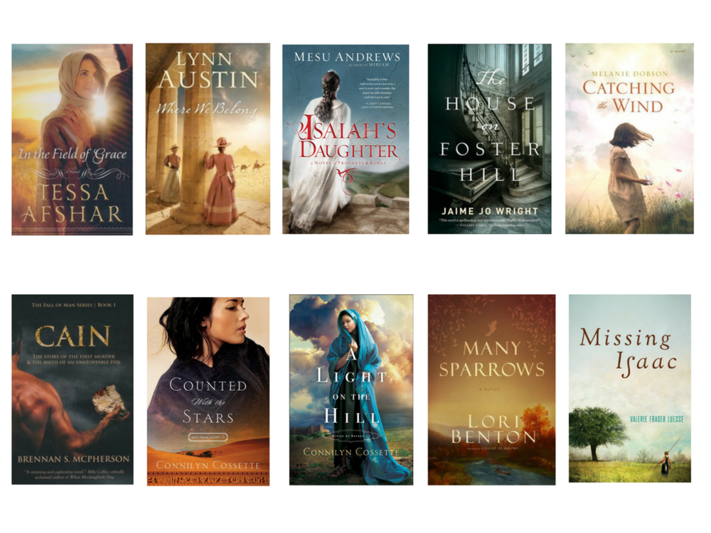 top ten christian fiction book covers