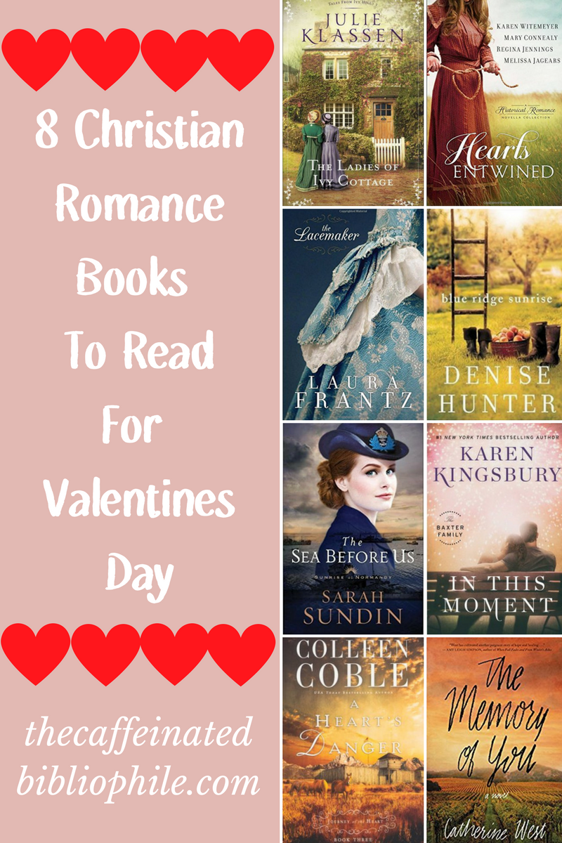 8 christian romance books valentines day