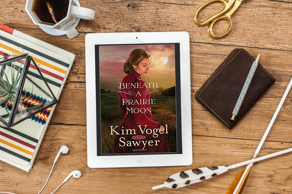 beneath a prairie moon kim vogel sawyer book review