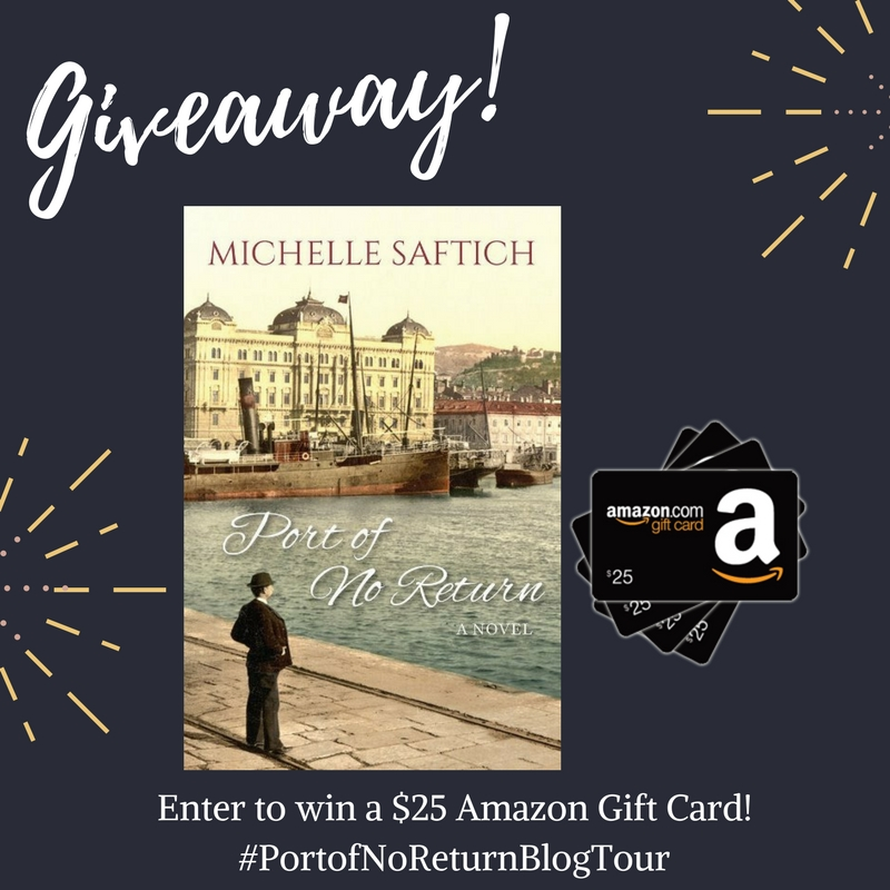 giveaway port of no return amazon giveaway