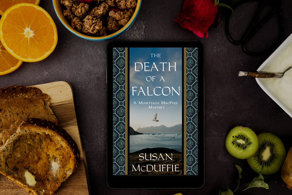 death of a falcon susan mcduffie book review