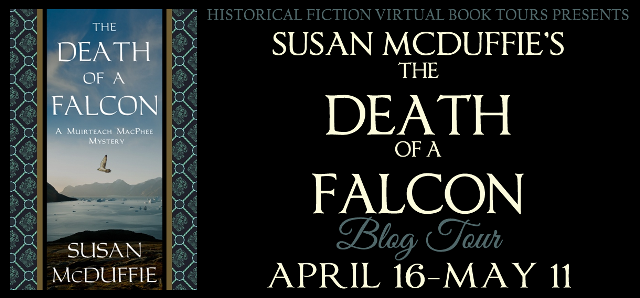 The Death of a Falcon Blog Tour Banner
