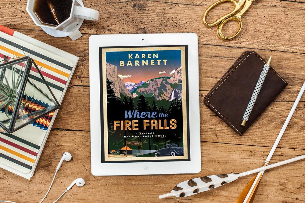 where the fire falls karen Barnett book review