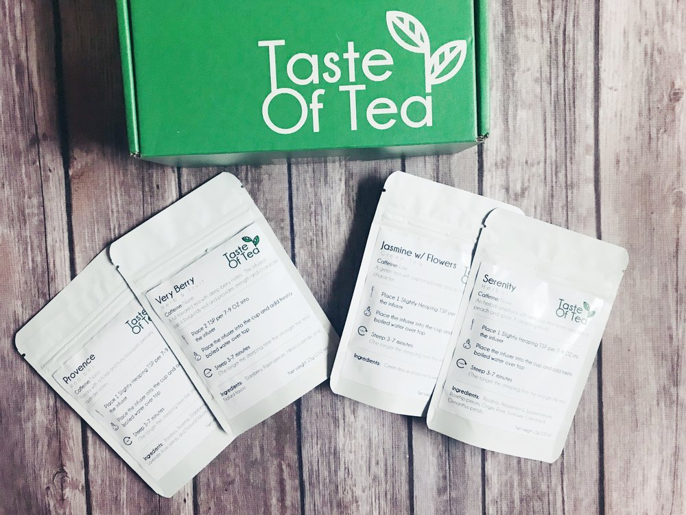 taste of tea june subscription box review