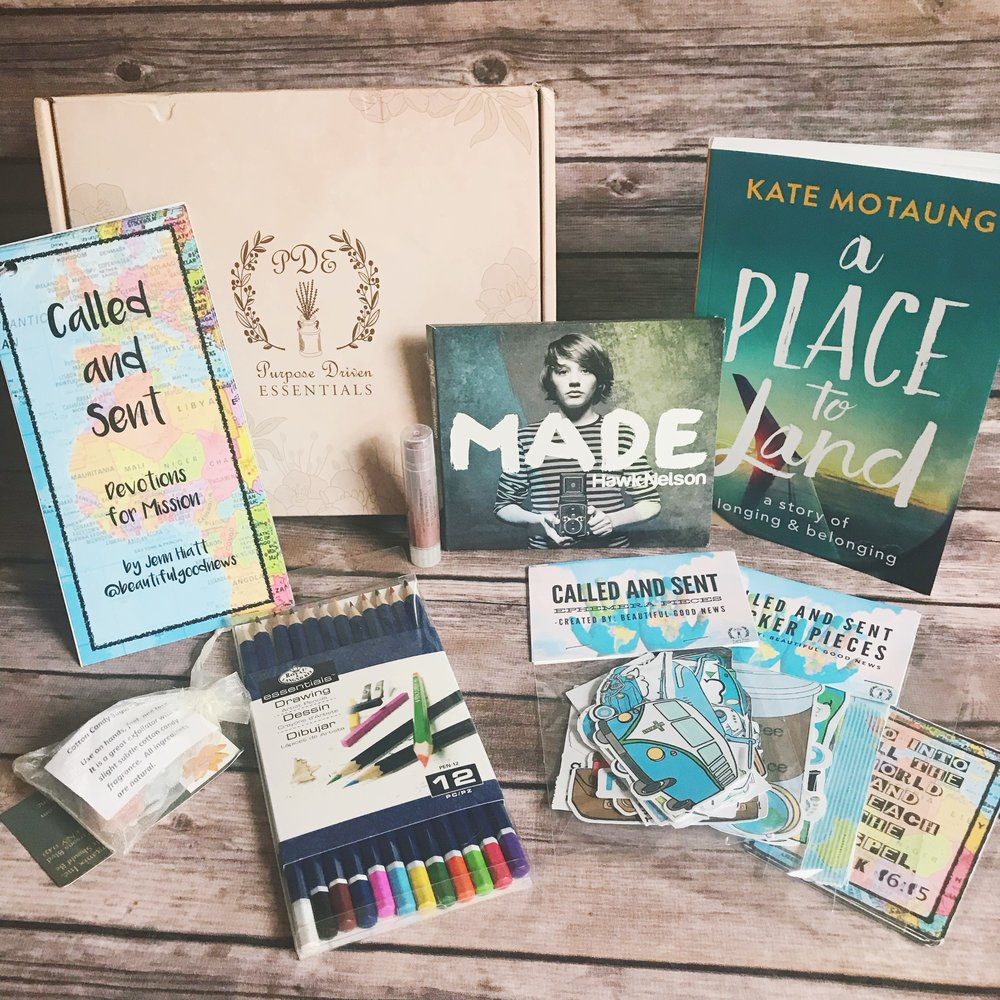 purpose driven essentials subscription box july review