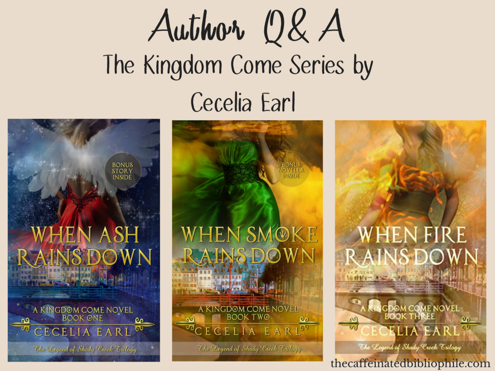 author interview the kingdom come series by cecelia earl