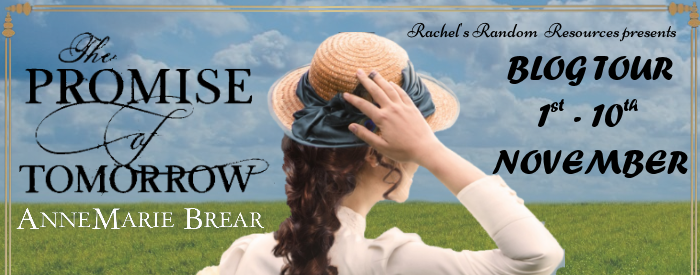 The Promise of Tomorrow annemarie brear blog tour