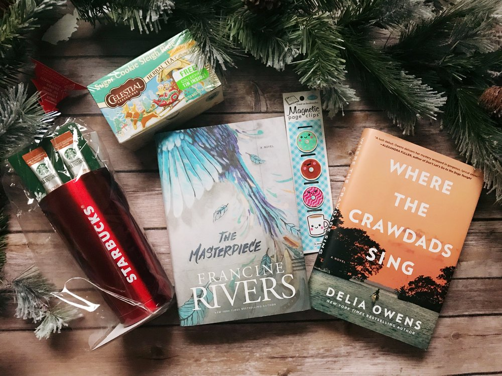 Giveaway - christmas The Masterpiece Francine Rivers Where The Crawdads Sing Delia Owens
