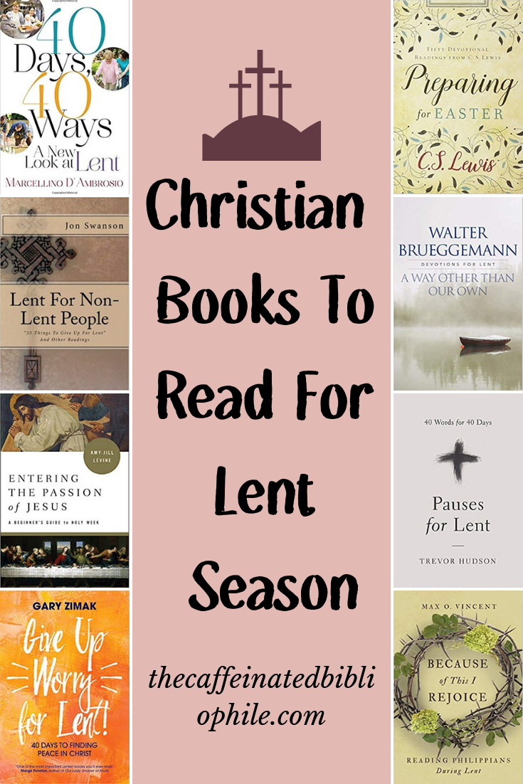 Christian Books To Read For Lent Season