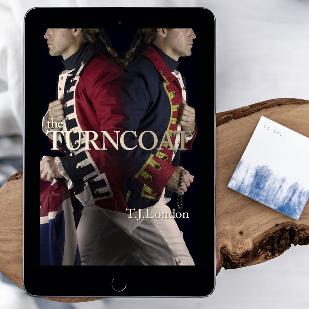 turncoat tj london cover reveal